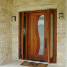 Eclectic Front Doors by Ivan Industries