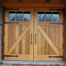 Garage Doors And Openers by NEWwoodworks Fine Woodworking