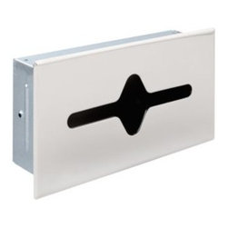 Liberty Hardware - Liberty Hardware 925 F.B. GUEST ROOM ACCESSORIES 6.7 Inch - Polished Chrome - Ideal for commercial buildings or office bathrooms, this shallow recessed tissue cabinet is made of durable steel material and plated in polished chrome finish to coordinate with other bathroom fixtures. The wall mounted design is easy to install and maintain. Width - 6.7 Inch, Height - 3 Inch, Projection - 12 Inch, Finish - Polished Chrome, Weight - 1.6 Lbs.