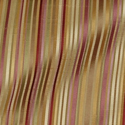 Stripe - Mulberry Upholstery Fabric - Item #1010914-150.