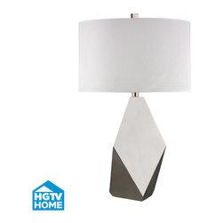 Dimond Lighting - Dimond Lighting HGTV349 Bonnin 1 Light Table Lamp - Features: