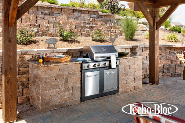 Traditional Outdoor Grills by Techo-Bloc