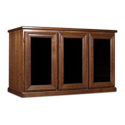216 Bottle Venetian Wine Cabinet - Can't you just picture this unit in your den or dining room? Simple and elegant, these sturdy, functional cabinets are built to last and add a touch of class to any room. Ideal for restaurants with limited storage space!