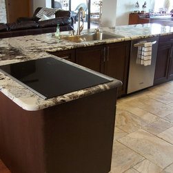 Shop Transitional Kitchen Countertops on Houzz