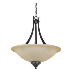 Sea Gull Lighting - Sea Gull Lighting 65175-710 Sea Gull Lighting 65175-962 Brushed Nickel Brockton - Sea Gull Lighting 65175 Brockton Three Light Uplight Pendant Brockton Three Light Uplight PendantThe aviation-inspired Brockton Collection will elevate