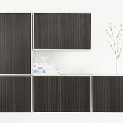 IKEA Besta Adhesive Panels - Adhesive backed architectural finishes for IKEA Besta Aluminum Doors