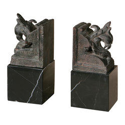 Ayano Bookends, Set of 2
