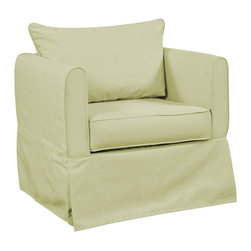 Howard Elliott - Starboard Willow Alexandria Chair Cover - Update the look of your Alexandria Chair simply by changing the cover! In fact get a few and change the look of your chair on a whim.