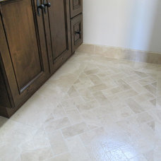 traditional bathroom tile by Classic Tile and Mosaic