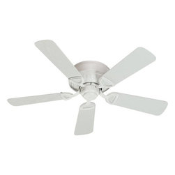 Quorum International - Medallion Studio White 42-Inch Patio Fan - -Amps: .42/.31/.19  -Fan Watts: 50/25/9  -RPM: 240/179/102  -Motor Size: 153x13  -Motor Poles: 14  -Motor Warranty: Limited Lifetime  -Motor Lead Wire: 8  -Motor Switch Type: Hi/Med/Low/Off  -Motor Reverse Type: Slide  -Five White Blades  -Blade Sweep: 42  -Arm Pitch: 14  -Ceiling to Lower Edge of Blade: 7.28  -Fan Housing Width: 10.71  -Optional remote control available.  See companioned items to order. Quorum International - 151425-8