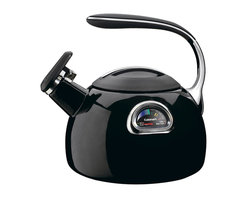 Cuisinart - Cuisinart PerfecTemp 3-Quart Teakettle Black - Precise, multi-colored temperature gauge indicates the correct water temperature to provide the ideal cup of tea or coffee.