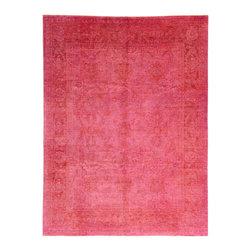 eSaleRugs - 8' 10 x 11' 8 Over-Dyed Ziegler Oriental Rug - SKU: 22162666 - Hand Knotted Over-Dyed Ziegler rug. Made of 100% Hand Spun Wool. Brand New.