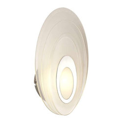 Trans Globe Lighting - Trans Globe Lighting LED-30001 PC Wall Sconce In Polished Chrome - Part Number: LED-30001 PC