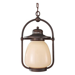 1 Bulb Grecian Bronze Outdoor Lighting