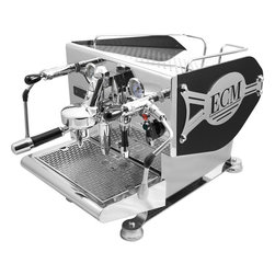 ECM Germany Controvento Double Boiler Espresso Machine - What if you take everything you would like in an espresso machine, combine it with German design and engineering, and put it in a unique package small enough for home use? You get the ECM Germany Controvento Double Boiler Espresso Machine!