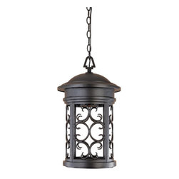 """Designers Fountain - Designers Fountain 31134-ORB 1 Light 11"""" Hanging Lantern from the Dark Sky Barri - Features:"""