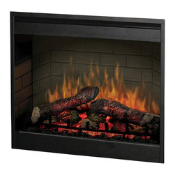 Dimplex - Dimplex 26 Inch Self Trimming Electric Insert - Dimplex - Fireplace Inserts - DF2608