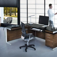 Modern Desks And Hutches by RoomService 360