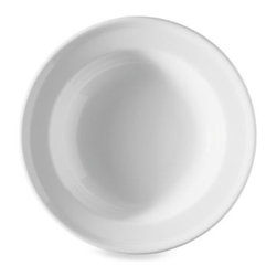 Rosenthal - Loft Trend 11.75-Inch Rim Pasta Bowl - This pure, twice fired porcelain dinnerware from Thomas for Rosenthal Loft sets a lovely dinner table. Durably crafted to be oven, microwave, and freezer safe.
