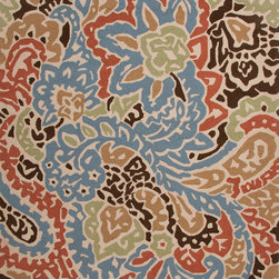 Jaipur Rugs - Abstract Pattern Multi Color Indoor/ Outdoor Rug - BA04, 3.6x5.6 - A soft, beautiful rug to complement your soft, beautiful space. Pastels and neutrals marry dreamily in an abstract pattern reminiscent of florals and paisley. Made of durable polyester that's easy to keep clean and lasts through many style updates.
