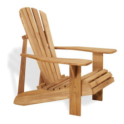 Douglas Nance - Set of 2, Douglas Nance Montauk Adirondack Chair - The low slope of the Montauk Adirondack Chair allows for comfortable lounging without the need of a footrest.