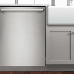 """Electrolux - 24"""" Built-In Dishwasher with IQ-Touch™ Controls - The quietest dishwasher in its class also features a Sure-2-Fit® racking system, Luxury-Glide® racks, a Luxury-Hold™ door, 6 cycle options and integrated IQ-Touch™ controls."""
