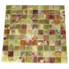 Contemporary Floor Tiles by Marble 'n Things