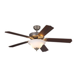 "Monte Carlo - Monte Carlo Homeowner Max Plus 5 Bladed 52"" Energy Star Rated Indoor Ceiling Fan - Features:"