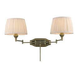 Elk Lighting - Elk Lighting-11214/2-Two Light Dual Swing Arm Wall Sconce - We offer a comprehensive suite of exclusive products to embrace your home with style and sophistication.