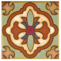 mediterranean kitchen tile by bourgetbros.com