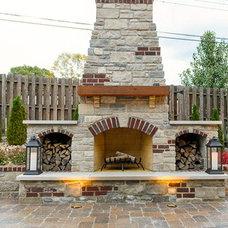Traditional Patio by Artistic Group