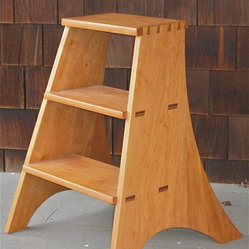 Cherry Library Ladder