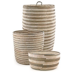 contemporary baskets by Swahili Imports