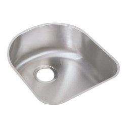Elkay - Harmony Lustertone Undermount Sink - ELUH1716 - Choose Sink Package: Sink OnlyManufacturer SKU: ELUH1716. Material: Stainless SteelFaucet Holes: 0Thickness: 18 GaugeCode Compliance: IAPMOSound Deadening: Sound Guard®Number of Bowls: 1Minimum Cabinet Size: 24 in.Sink Dimensions: 18 1/2 in. L x 20 in. WPrimary Bowl Depth: 7 1/2 in.Bowl Dim.: 16 in. x 17 1/2 in. x 7 1/2 in.Drain Size: 3 1/2 in.