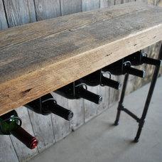 Eclectic Wine Racks by UrbanWood Goods