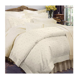 "Frontgate - Giza Set of Two Pillowcases - Jacquard style is 100% Italian-spun Egyptian cotton with a subtle floral toss pattern. Percale style is a closely woven, plain weave that's crisp and pristine. Sateen style is smooth with a slight sheen. Generously sized to accommodate pillow-top mattresses up to 17"" deep. Machine wash water using non-chlorine bleach detergent; wash dark colors separately. Simply put, SFERRA Giza 45 Bedding is made of the finest cotton in the world. Usually available only for the finest men's shirts, bedding made with GIZA 45 cotton is the softest, smoothest, and most luxurious that you will ever find. The beauty and quality of this dazzling bedding start with the longest-staple cotton grown in the Nile River Valley and continues through to the Italian craftsmen who weave it to a stunningly smooth finish. Cotton this beautiful defies thread count. . . . .  .  . Tumble dry on low setting . For best results, iron on ""cotton' setting on reverse side of fabric to restore luster and sheen . Made in Italy by SFERRA. Part of the SFERRA Giza 45 Bedding Collection."