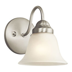 Kichler - Wynberg Brushed Nickel Wall Sconce - Wynberg Brushed Nickel Wall Sconce Kichler - 5294NI