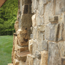 Rustic Exterior by Murphy & Co. Design