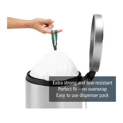 Brabantia Plastic Bag Dispenser Pack, Code G