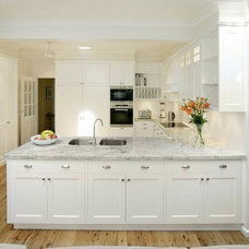 Traditional Kitchen by Kitchens By Design Australia