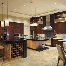 Contemporary Kitchen by Brantley Photography