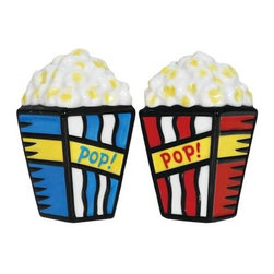 "Westland - Popcorn for 2 'Pop' Salt and Pepper Shakers, Red and Blue - This gorgeous 3.25 Inch Popcorn For Two ""Pop"" Salt and Pepper Shakers - Red and Blue has the finest details and highest quality you will find anywhere! 3.25 Inch Popcorn For Two ""Pop"" Salt and Pepper Shakers - Red and Blue is truly remarkable."