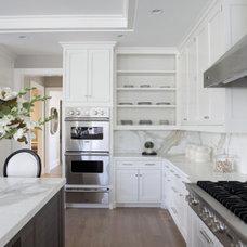Tray Ceiling - Contemporary - kitchen - Milton Development