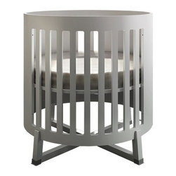 the s ren round convertible crib is perfect for the modern nursery