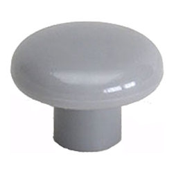 Berenson - Grey Cabinet Knobs - Berenson item number 3901-754-B is a beautifully finished Grey Cabinet Knobs. Product Diminsion(s): Hole Spacing: 96.012 mm. / 3 25/32 in.Diameter: 38.1 mm. / 1 1/2 in.Base Diameter: 16.002 mm. /  5/8 in.Projection: 28.702 mm. / 1 1/8 in.