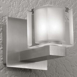 LumenArt - LumenArt | AWL.01 Wall Sconce - Please note: These fixtures are designed to mount to their own miniature junction boxes (included). For existing junction boxes, an optional canopy plate can be specified (not pictured). Wall light for accent illumination.Material