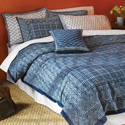 National Geographic Indigo Duvet - King Size
