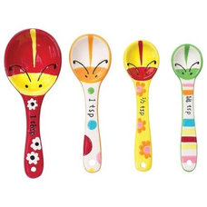 Eclectic Measuring Cups And Spoons by Cooking
