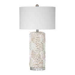 Bassett Mirror Company - Bassett Mirror Company Shell Table Lamp - Shell Table Lamp by Bassett Mirror Company Lamps (1)