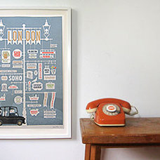 Contemporary Artwork London Poster by Jim Datz